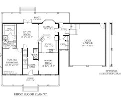 House Plan 100  Two Master