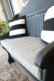 Pillow Top Bench How To Sew A Custom Bench Cushion In 2 Hours