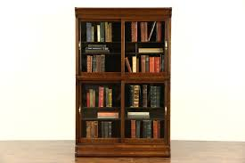 Danner Revolving Bookcase Sold Bookcases Library Cabinet Harp Gallery Antiques