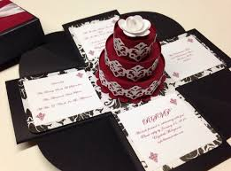 3d wedding invitations exploding box wedding invitation exploding boxes exploding box