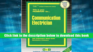 download pdf communication electrician passbooks jack rudman