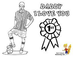 love soccer coloring pages