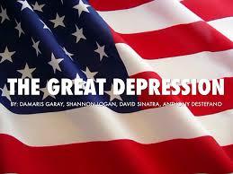 Depression Black Flag The Great Depression By Damaris Garay