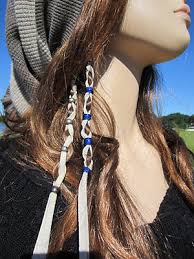 boho hair wraps american boho hair jewelry ponytail holders leather hair wraps tie