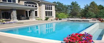 Great Pool Swimming Pool Great Outdoor Living Space Design Ideas With