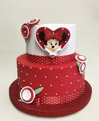 Red Minnie Mouse Cake Decorations 47 Best Mickey U0026 Co Images On Pinterest Mickey Cakes Mickey
