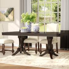 artefama tower dining table alcott hill rheems extendable dining table wayfair
