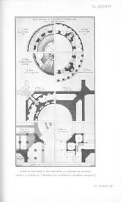 visualization in architecture drawing types roof plan rome and