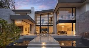 modern house design exterior design ideass glass front door koi