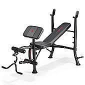 Jr Weight Bench Set Multi Gyms U0026 Benches Health U0026 Fitness Tesco
