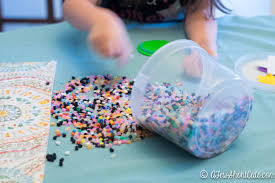 perler bead coasters and drink lids a few shortcuts