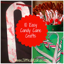 10 easy candy cane crafts projects for kids christmas http www