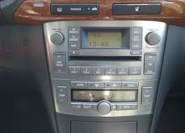 toyota car stereo toyota avensis 2003 2007 aftermarket navigation car stereo