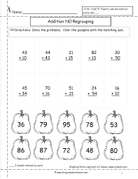 Worksheets For Math Halloween Worksheets And Printouts