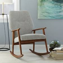 Padded Rocking Chairs For Nursery High Back Rocking Chair Cool For A Bedroom Corner Sm Ideas