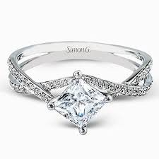 Wedding Rings Princess Cut by 25 Cute Split Shank Ideas On Pinterest Split Shank Engagement