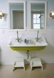 tampa kohler brockway sink powder room traditional with vanity