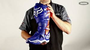 motocross boots fox fox instinct mx boot available from www tracktion co nz colourways
