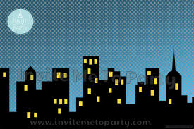 backdrop city city printable backdrop printable photo booth