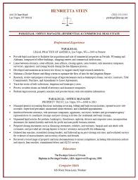 Example Resume Letter by Litigation Paralegal Resume Template