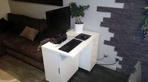 mini bureau ordinateur meuble pour ordinateur portable