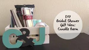bridal shower gift ideas for guests to make a candle poem basket for bridal shower gift decent
