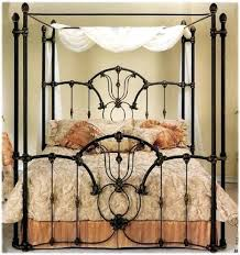 Wrought Iron Canopy Bed Antique Canopy Bed Vintage Wrought Iron Canopy Bed Selv Me