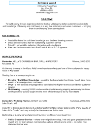 Summary Resume Sample by Formal Resume Sample Bartender Featuring Summary Of Qualifications