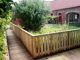 backyard garden with pallet fences ways to installing garden