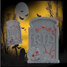 38x25cm halloween foam skeleton tombstone haunted house rip stone