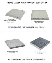 amazon com toyota carbon cabin air filter 87139 yzz03 fits