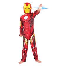 halloween iron man costume ironman costume ages 6 8 assorted kmart
