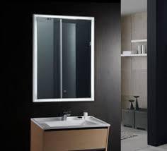 Lighted Vanity Mirrors For Bathroom Fiori Ii Lighted Vanity Mirror Led Bathroom Mirror