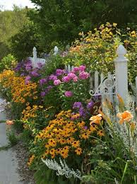 best plants for a cottage garden white picket fence fences and