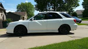 subaru wrx hatchback modified 2002 subaru wrx wagon aspen white mnsubaru