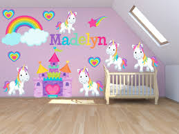 Princess Wall Decals For Nursery by Wall Decals For Kids Bedroom Pony Wall Decal Princess