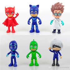 2017 pj masks pvc action figure pj masks cartoon owlette