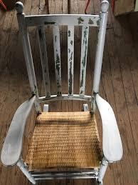Broken Rocking Chair Chair Caning Hayloft Studio