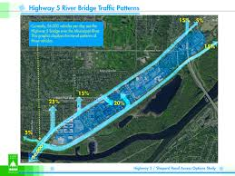 Mn Highway Map Chart Of The Day Highway 5 Bridge Traffic Flows Streets Mn