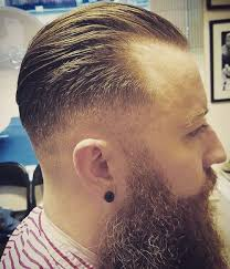 undercut slick back receding hairline 50 classy haircuts and hairstyles for balding men