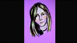 quick portrait demo on sketch guru app android by rebecca