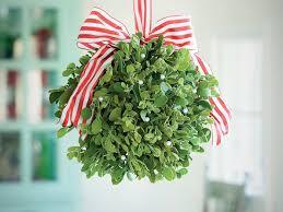 christmas mistletoe how to make a mistletoe southern living