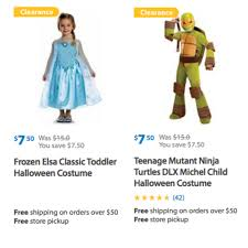 halloween costumes walmart walmart save up to 50 off on halloween costumes for the entire