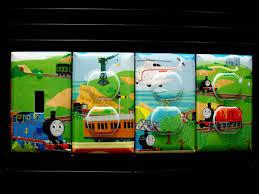 Thomas And Friends Decorations For Bedroom Kids Room Thomas The Tank Engine Train U0026 By Birdiegirlstreasures