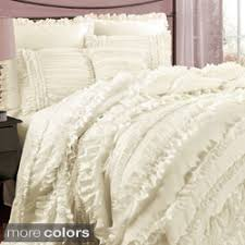 aqua ruffle comforter fluffy comforter sets designing home beautiful blue white teal