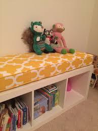 handmade ikea kallax cushion bench cushion by hearth and home