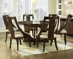 excellent ideas 7 piece round dining room set lofty design glass