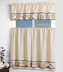 3 Piece Curtain Rod Amazon Com Laundry Clothesline Kitten 3 Piece Rod Pocket Top