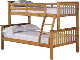 LPD Otto Otto Triple Sleeper Pine Bunk Bed Bedsdirectuknet - Pine bunk bed