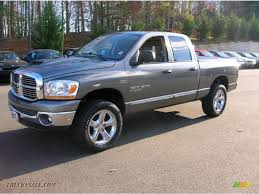 2006 dodge ram 1500 4x4 for sale 2006 dodge ram 1500 big horn edition cab 4x4 in mineral gray